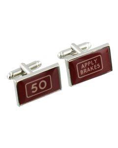 50 Years Cufflinks - Harvey Makin - Gift Boxed - 50th Birthday Present