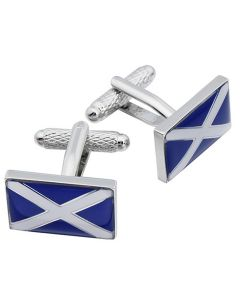 St Andrews Cross Cufflinks by Onyx Art