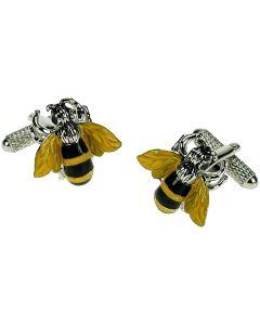 Bee Cufflinks Onyx Art - Gift Boxed - Keeper