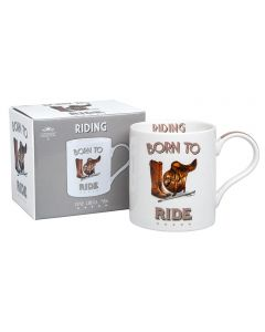 Born to Ride Mug by Leonardo - Fine China - Gift Boxed - Horse Riding Rider Gift