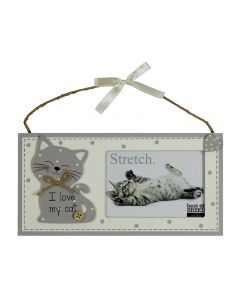 I Love My Cat Photo Frame - Best of Breed - 24 x 12 cm - MDF BB266 Picture