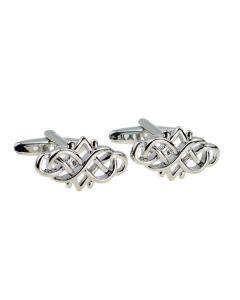 Rectangular Celtic Design Cufflinks