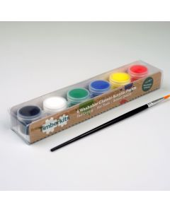 Timberkits Classic Acrylic Paint Set - The Perfect Accessory for Your Model