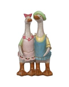 Country Ducks Couple by Davids Ducks