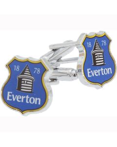 Everton FC Crest Cufflinks - Gift Box