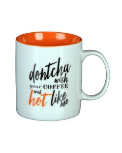 Musicology Mug - Gift Boxed - Dontcha Wish Your Coffee Was Hot Like Me