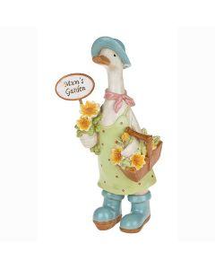 Mums Garden Duck - Davids Ducks - Mum Mother Grandma Ornaments Gift