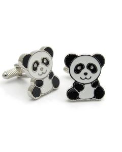 Panda Cufflinks by Onyx Art - Gift Boxed