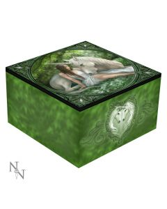 Pure Heart Mirror Box - Anne Stokes