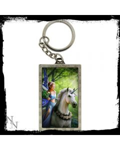 Realm of Enchantment 3D Keychain - Anne Stokes - Key Fob Holder Chain Ring