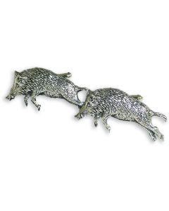 Running Boar Cufflinks - Gift Boxed