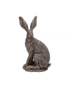 Sit Tight Hare - Andrew Bill - Country Art Collection Bronzed Sculpture 23.5cm