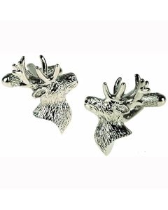 Stags Head Cufflinks by Onyx Art - Gift Boxed
