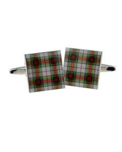 Clan Stewart Tartan Cufflinks - Gift Boxed -  Scottish Scots Highland Cuff Links