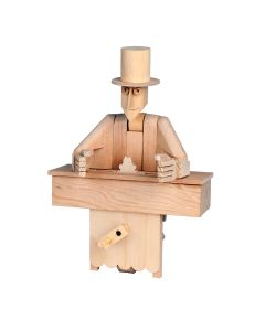 Timberkits Magician Kit - Wooden Moving Model Self Assembly Construction Gift